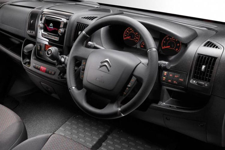 Citroen Relay HGV 40 Heavy L4 2.2 BlueHDi FWD 140PS Enterprise Van High Roof Manual [Start Stop] inside view