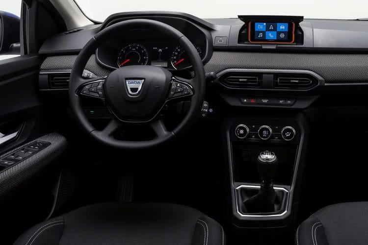 Dacia Sandero Hatch 5Dr 1.0 SCe 65PS Essential 5Dr Manual inside view