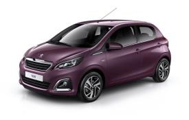 Peugeot 108 Hatchback Hatch 3Dr 1.0  72PS Allure 3Dr Manual [Start Stop]