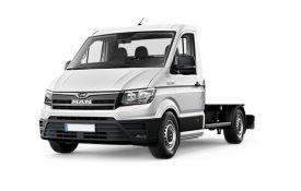 MAN TGE Chassis Cab 3.100 3.5t Standard FWD 2.0 d FWD 102PS  Chassis Double Cab Manual [Start Stop]