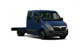 Vauxhall Movano Chassis Cab R35 L4 2.3 CDTi BiTurbo DRW 130PS  Chassis Double Cab Manual