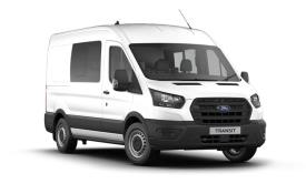 Ford Transit Crew Van 350 L3 RWD 2.0 EcoBlue RWD 170PS Trend Crew Van High Roof Manual [Start Stop] [DCiV]